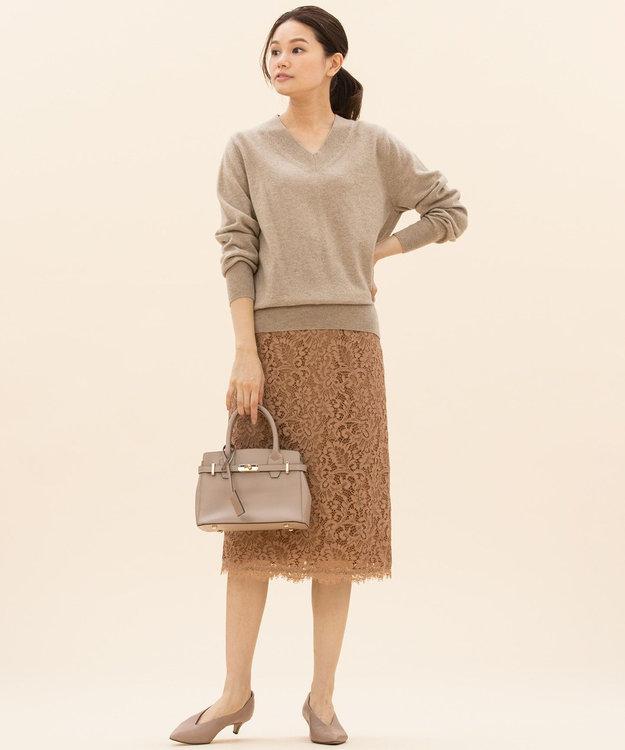 23区 S 【マガジン掲載】ペイズリーフラワーレース スカート(検索番号K45)