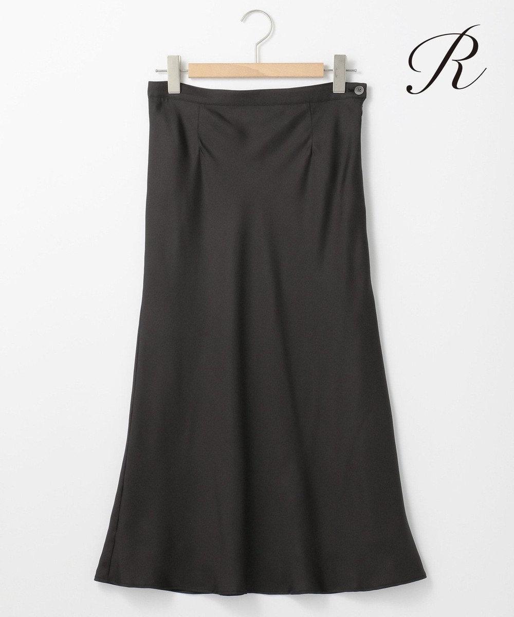 23区 L 【R(アール)】SILK TWILL スカート(検索番号R27) グレー系