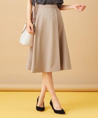 any SiS S 【美人百花掲載】タックポイントノーブル スカート ライトモカ