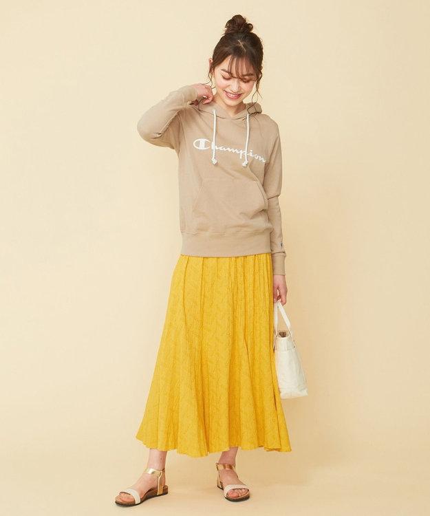 any SiS 【WEB限定色あり】L'aubeクリンクルマーメイド スカート
