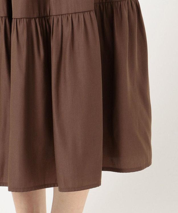 any SiS ティアードマキシ スカート