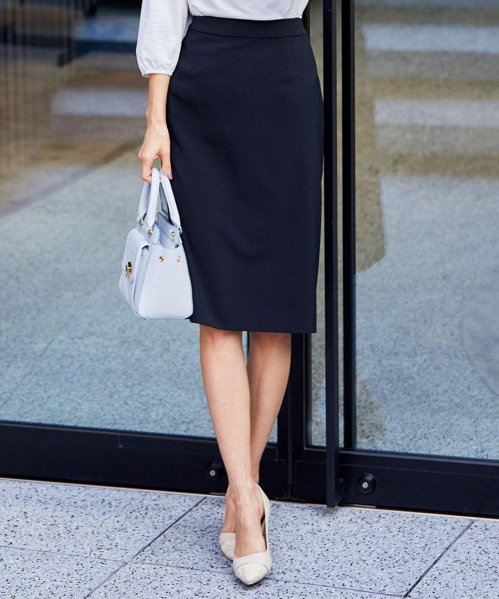 any SiS 【セットアップ対応】セレモニーダブルクロス スカート ブラック系