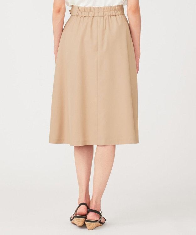any SiS L 【洗える】スプリングサイドベルト スカート