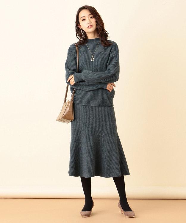 any SiS L 【洗える】マーメイドニット スカート