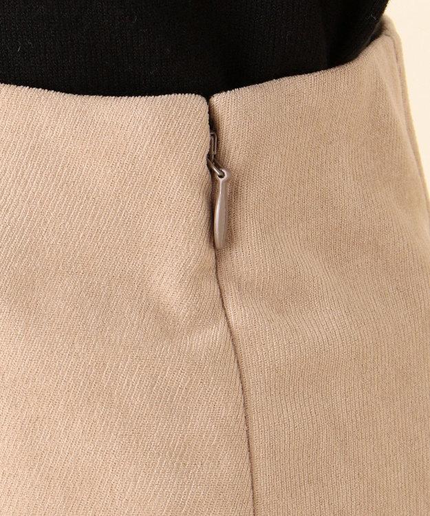 any SiS S 【洗える】マーメイドスエード調 スカート
