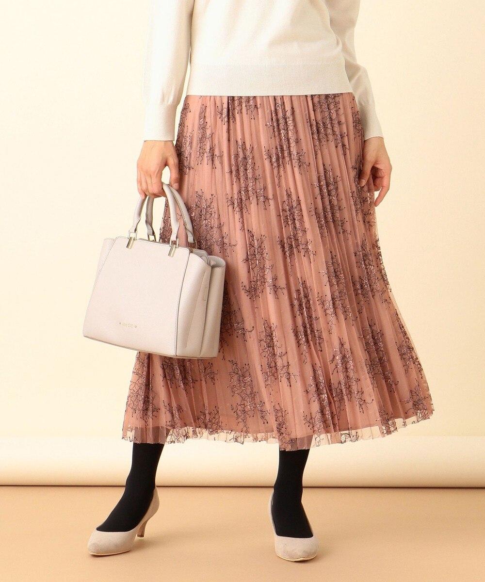【美人百花1月号掲載】2WAYレーシー リバーシブル スカート