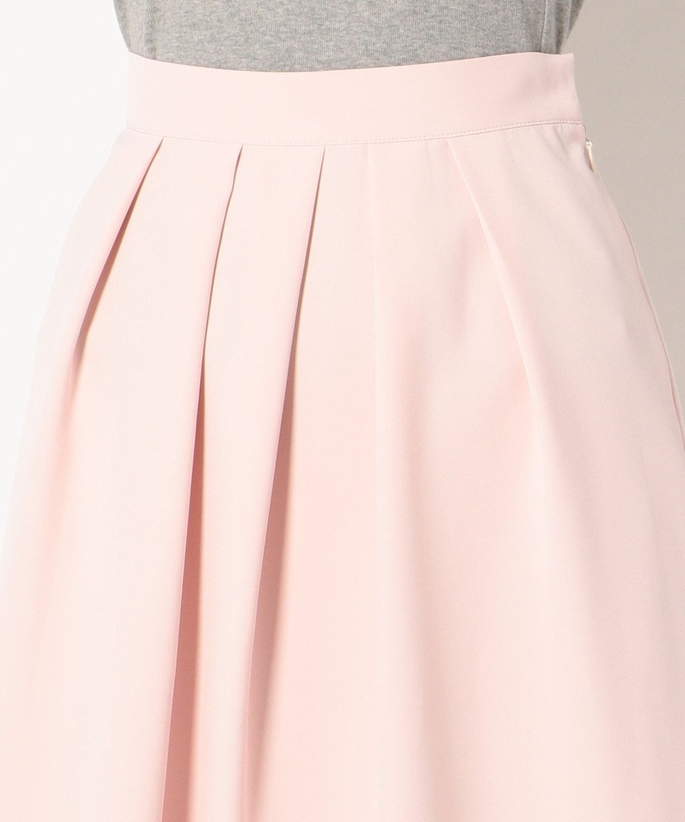 any SiS 【洗える】イレギュラーヘムフレアー スカート ピンク系
