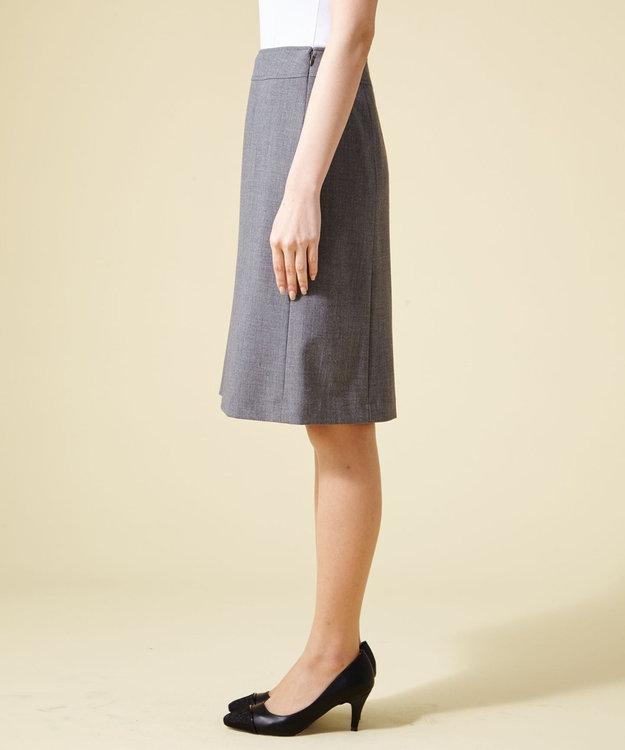 any SiS 【洗えるスーツ】T/Rウォッシャブル スカート