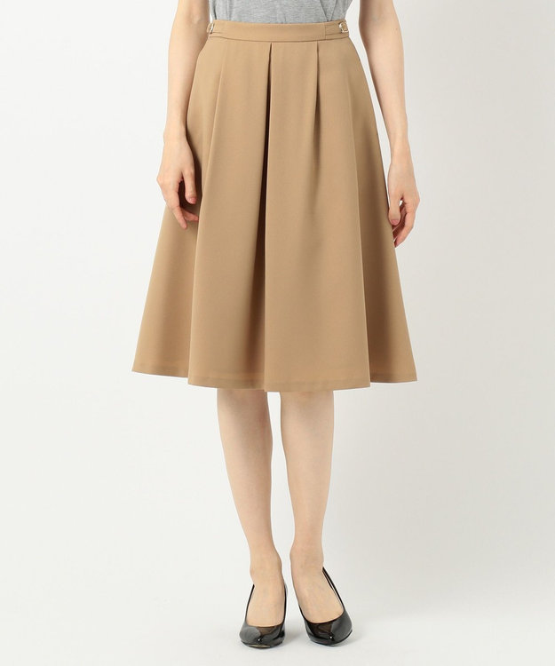 any SiS L 【洗える】サイドバックルポイント スカート