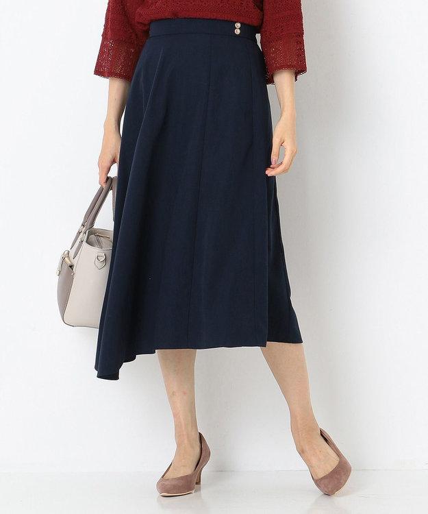 any SiS S 【洗える】レディイレヘム スカート