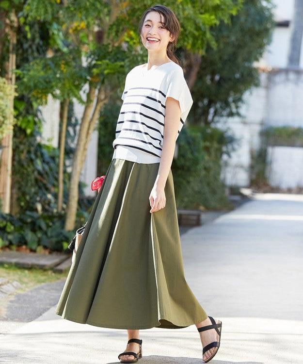 any SiS 【L'aube】Dickies フレアロング スカート