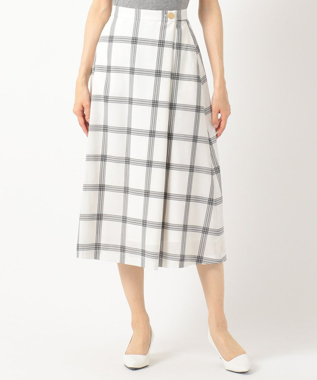 any SiS S 【洗える】ライトサマーフレア スカート