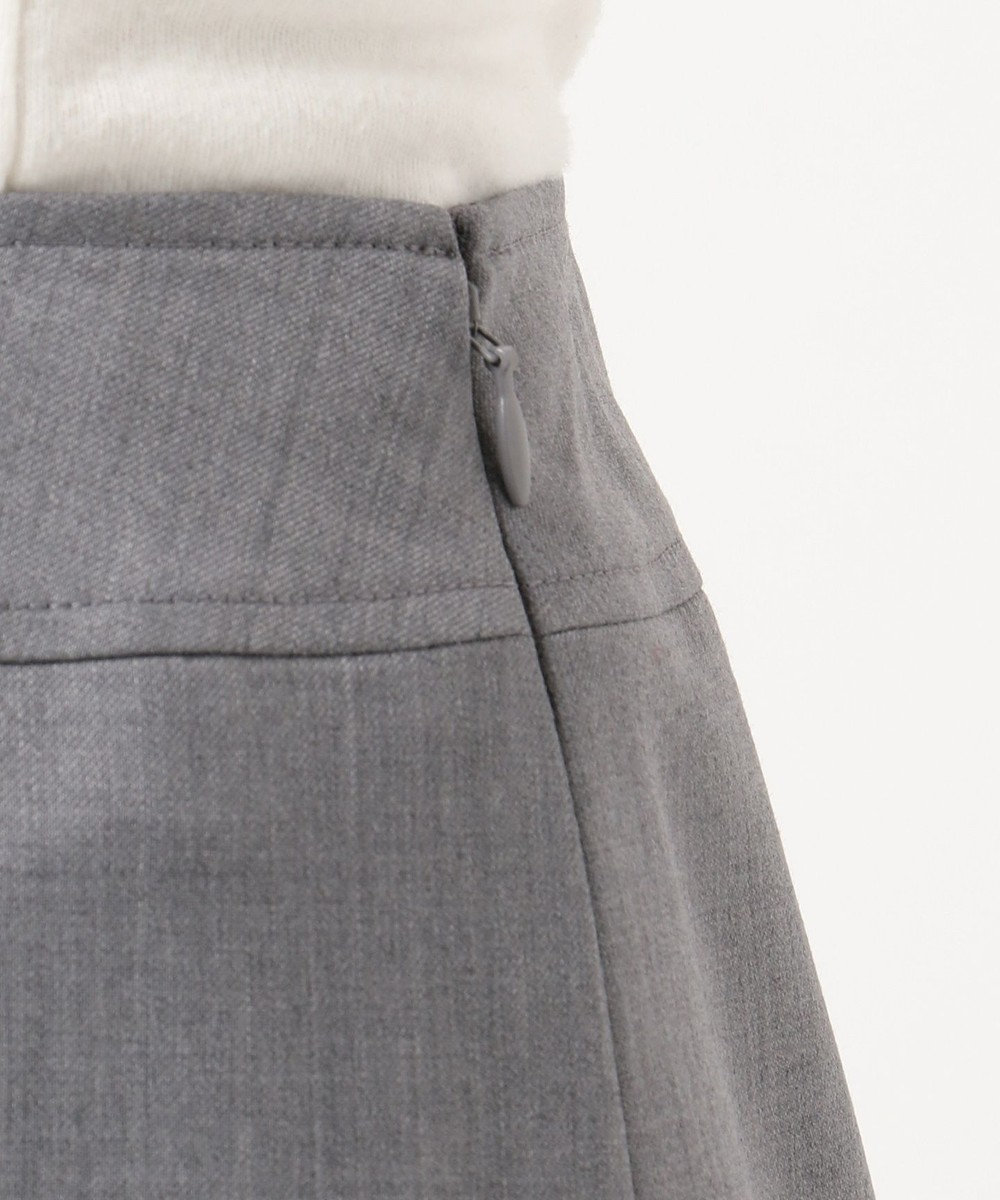 any SiS 【洗える】ウォッシャブルT/Wスーツ スカート グレー系