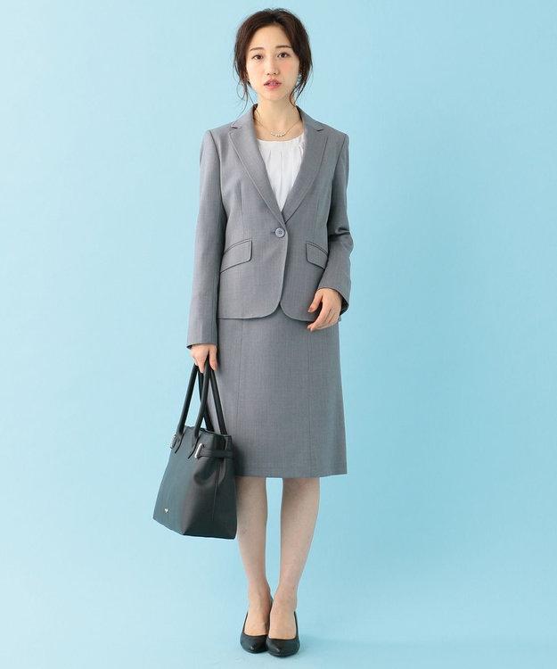 any SiS 【洗える】ウォッシャブルT/Wスーツ スカート