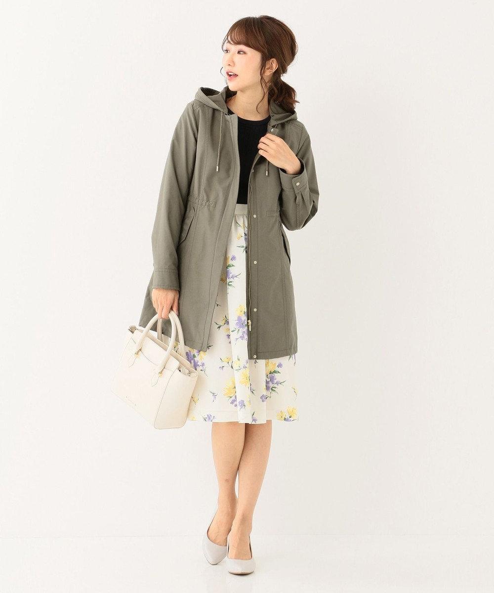 any SiS L 【洗える】スプリングフルール スカート アイボリー系