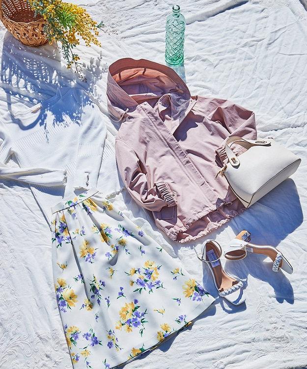any SiS L 【洗える】スプリングフルール スカート