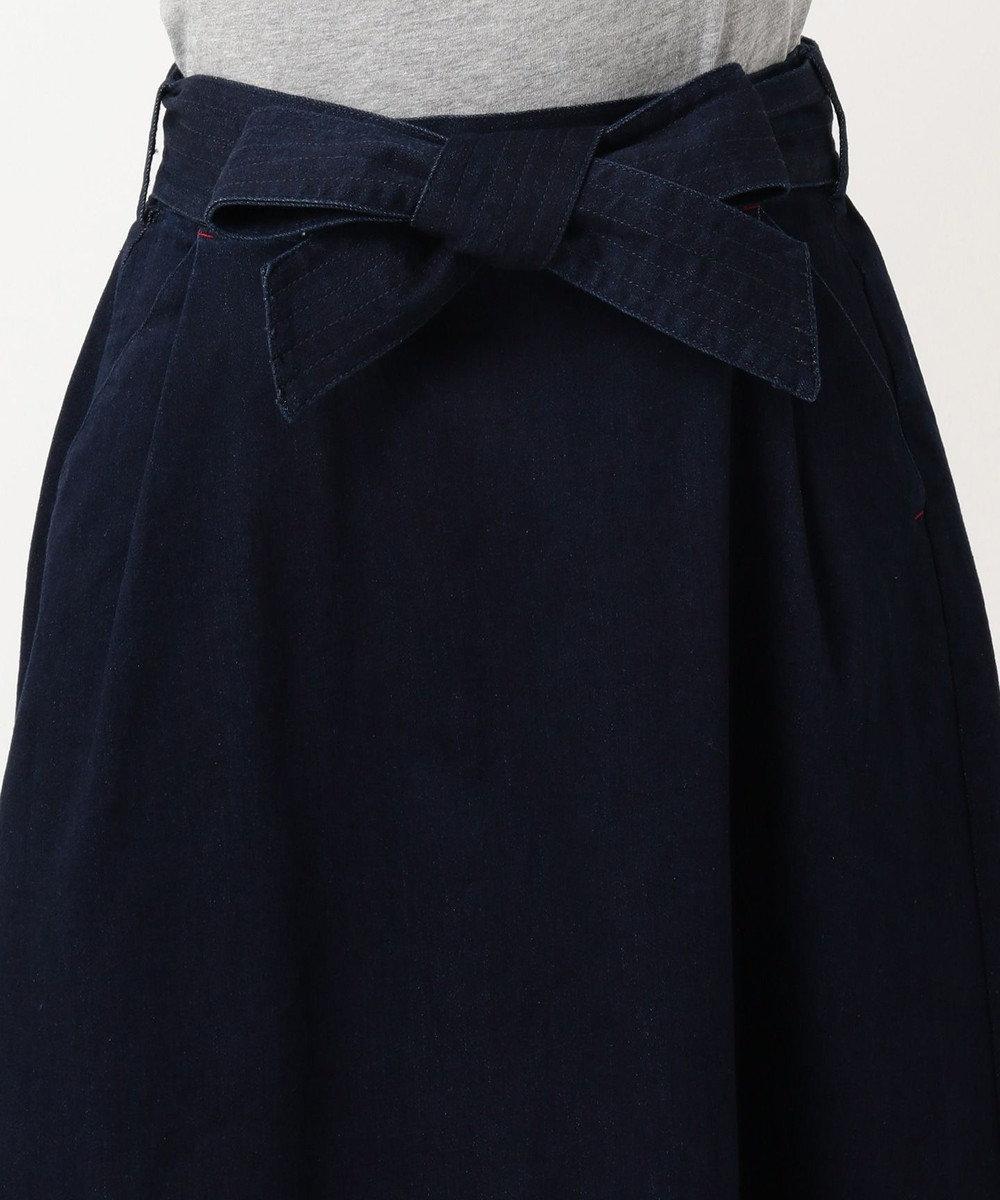 any SiS S 【L'aube】フレアデニム スカート ネイビー系