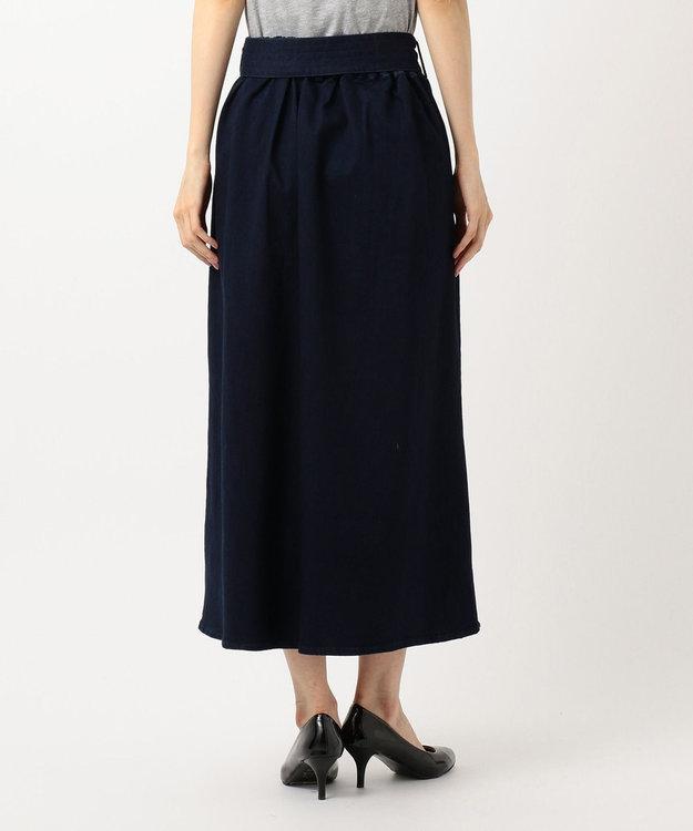 any SiS S 【L'aube】フレアデニム スカート