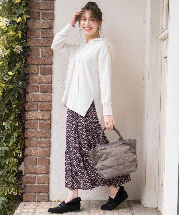 any SiS S 【L'aube】アンティークフラワーロング スカート