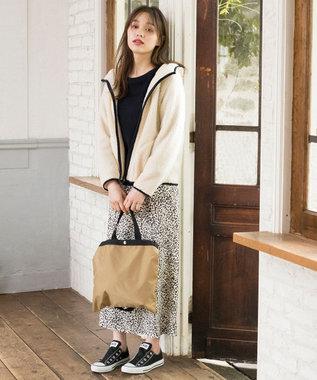 any SiS S 【L'aube】レオパードマーメイド スカート アイボリー系5