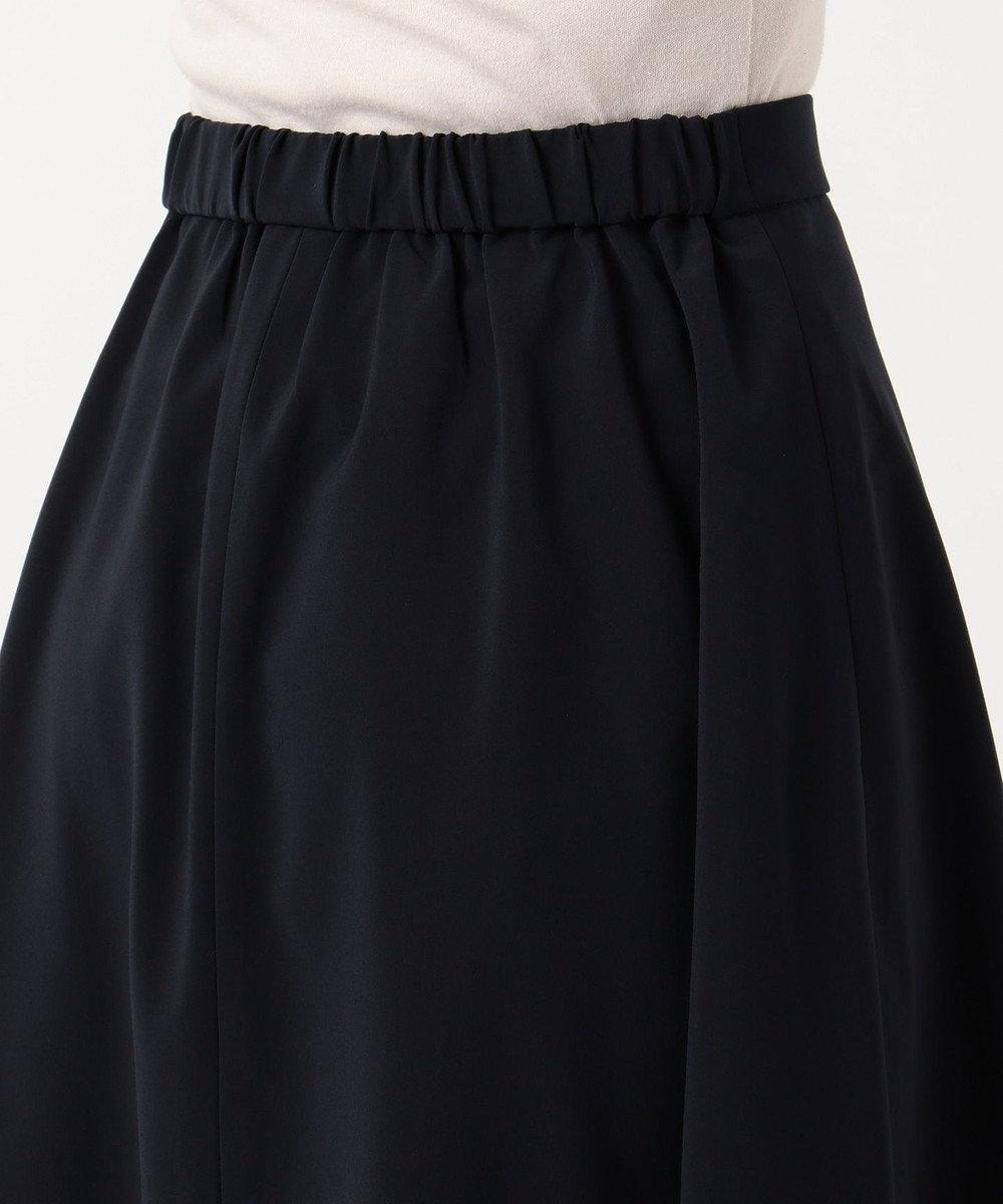 any SiS 【洗える・SETUP対応】セレモニーダブルクロス スカート ネイビー系