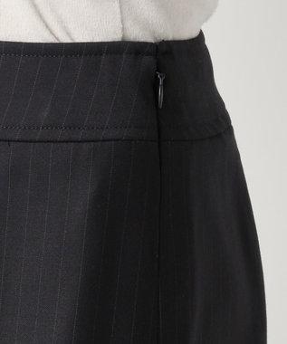 any SiS 【洗える】T/Rウォッシャブルスーツ スカート ネイビー系1