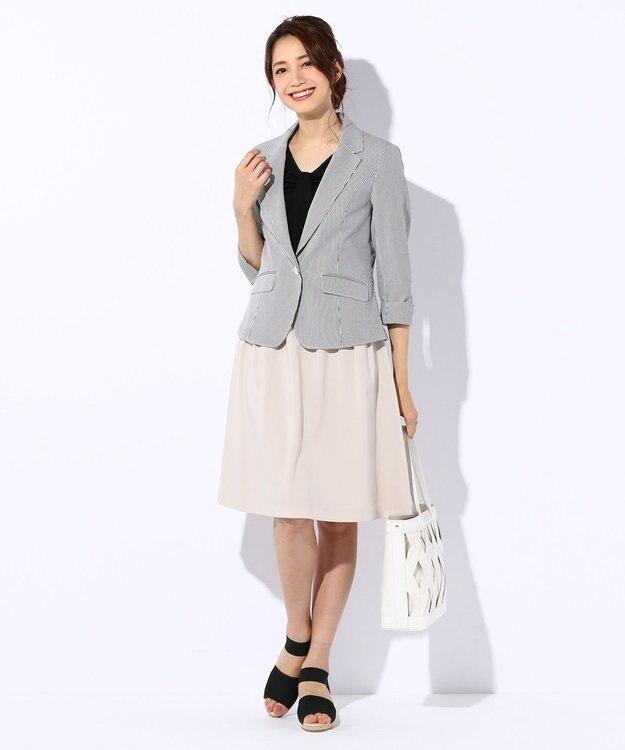 any SiS S 【洗える】スプリングタック スカート