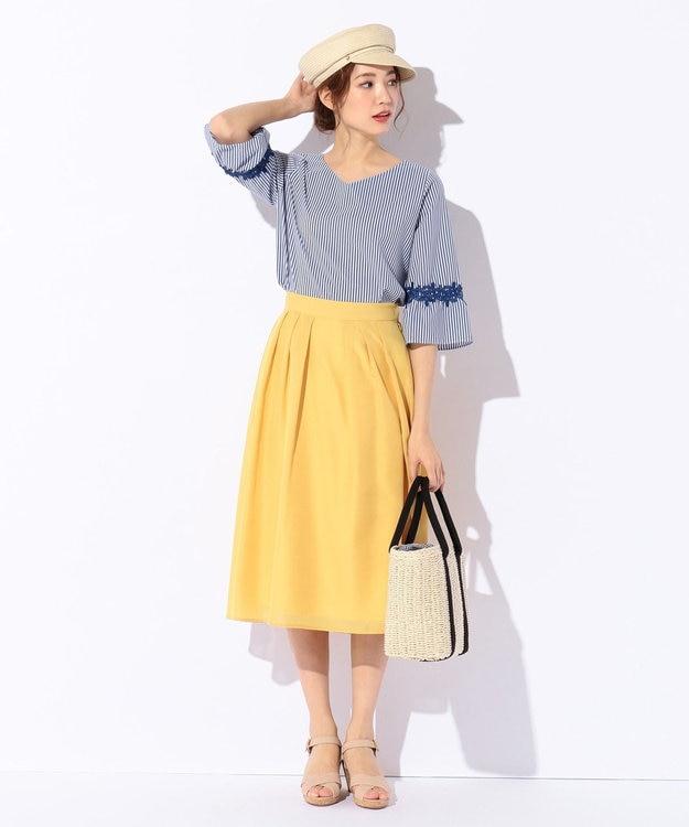 any SiS 【洗える】イレギュラーヘムカラー スカート