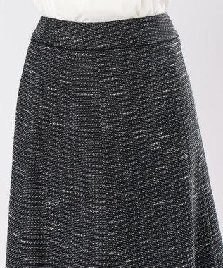 any SiS 【セットアップ対応】リップルボーダーストレッチ スカート ネイビー系1