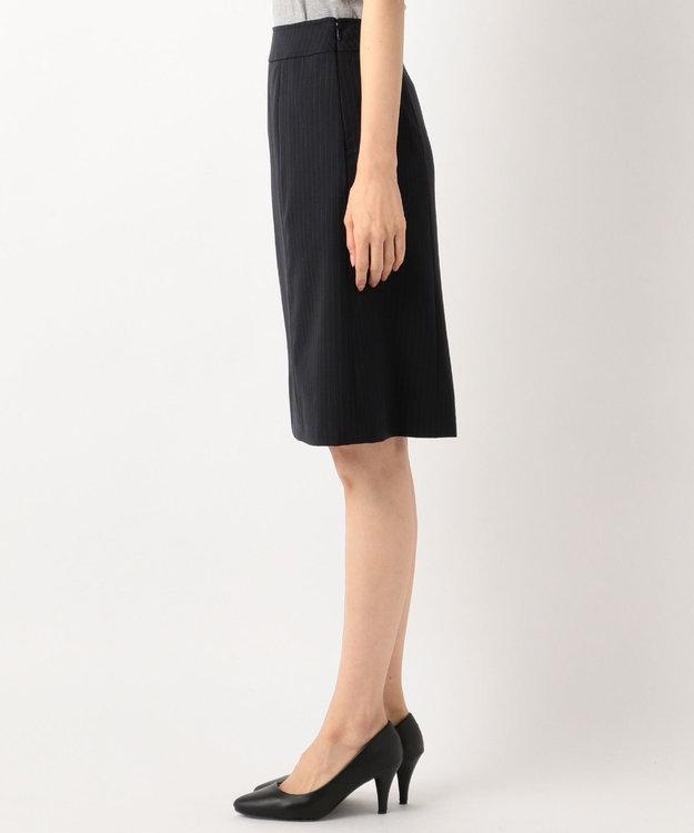 any SiS 【洗えるスーツ】ウォッシャブルT/Wスーツ スカート