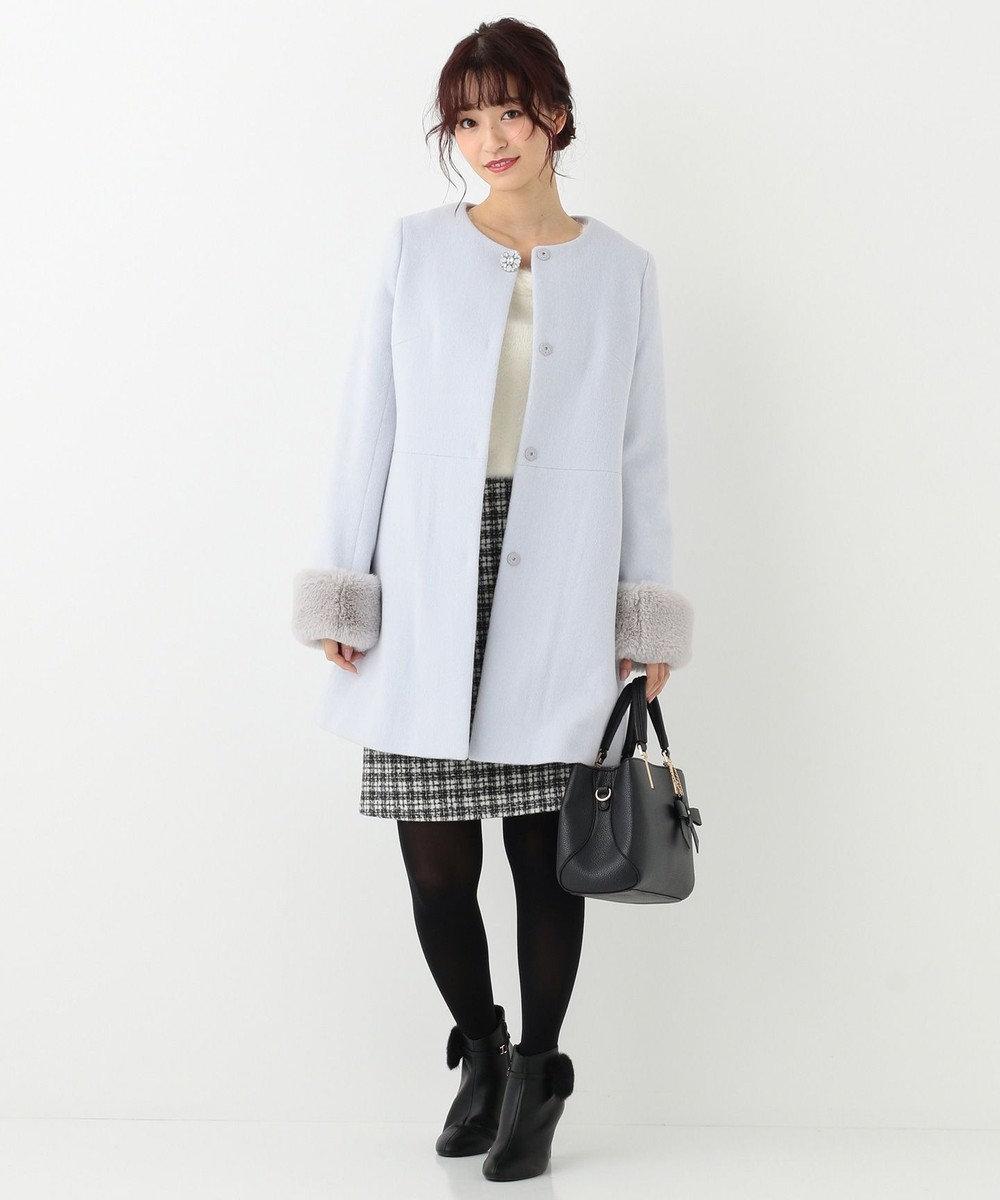 any SiS 【洗える】コンパクトウォーム スカート アイボリー系2