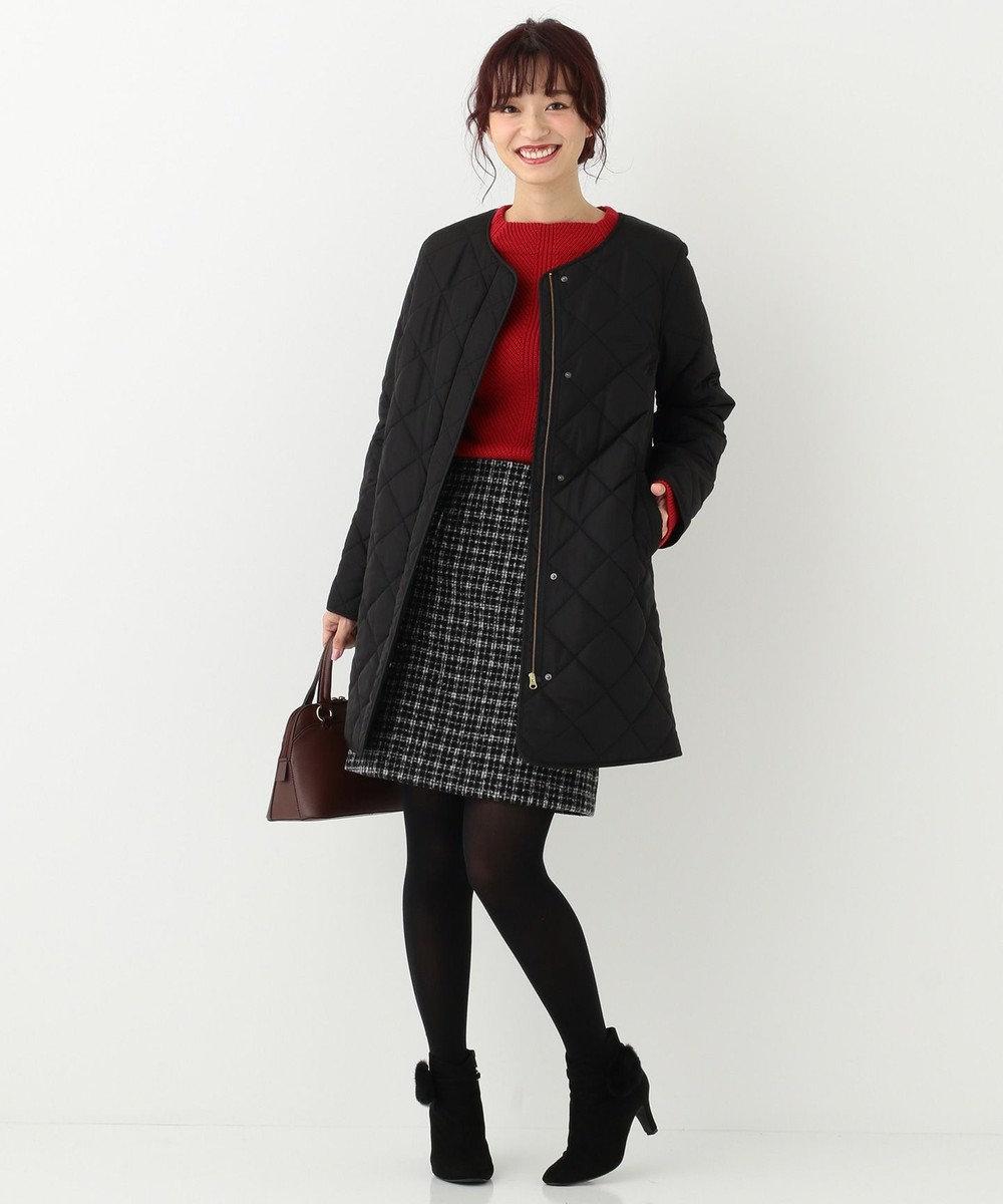 any SiS 【洗える】コンパクトウォーム スカート ブラック系2