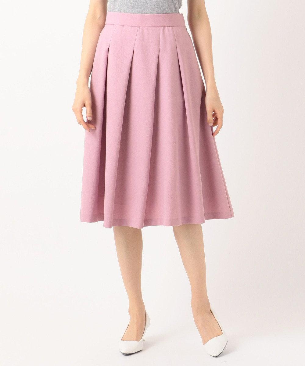 組曲 S 【洗える】ライトカラースカート ピンク系