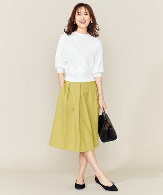 組曲 S 【洗える】ライトカラースカート イエロー系