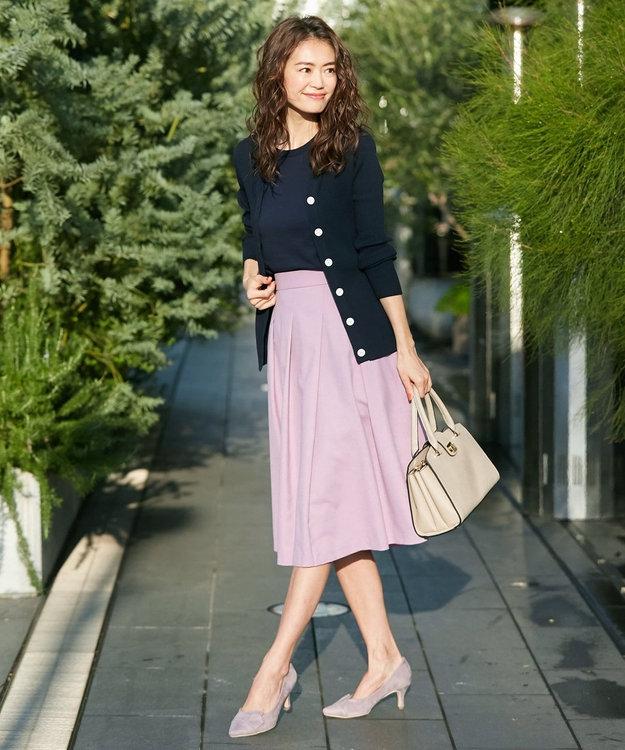 組曲 S 【洗える】ライトカラースカート