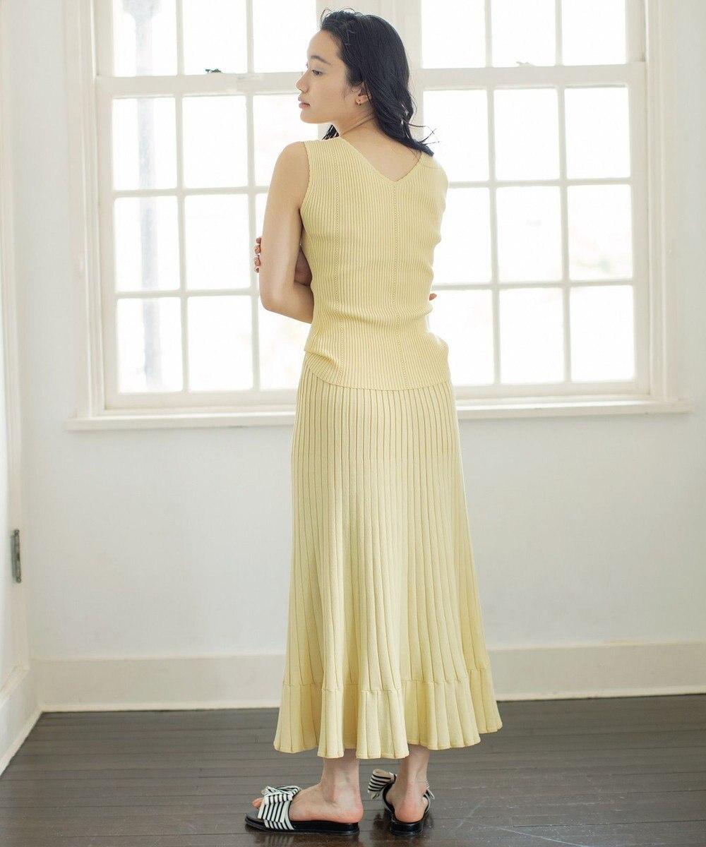 組曲 【Rythme KUMIKYOKU】MarrakechResort ニットスカート アイボリー系