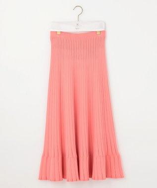 組曲 【Rythme KUMIKYOKU】MarrakechResort ニットスカート オレンジ系