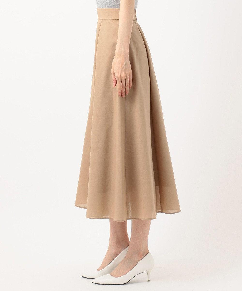 組曲 S 【軽くて涼しい!】TCボイル スカート ベージュ系