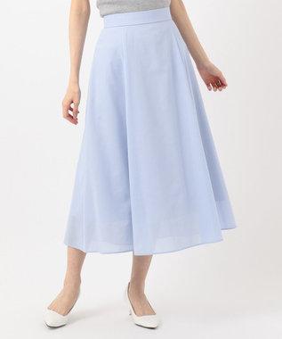 組曲 S 【軽くて涼しい!】TCボイル スカート サックスブルー系