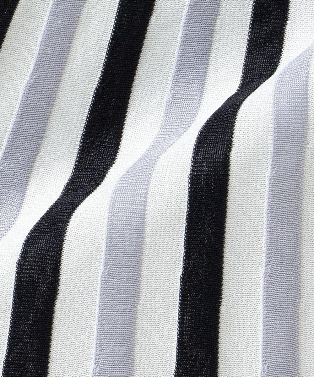 組曲 【Oggi2月号掲載】ポリエステルハイゲージ ニットプリーツスカート ネイビー系2
