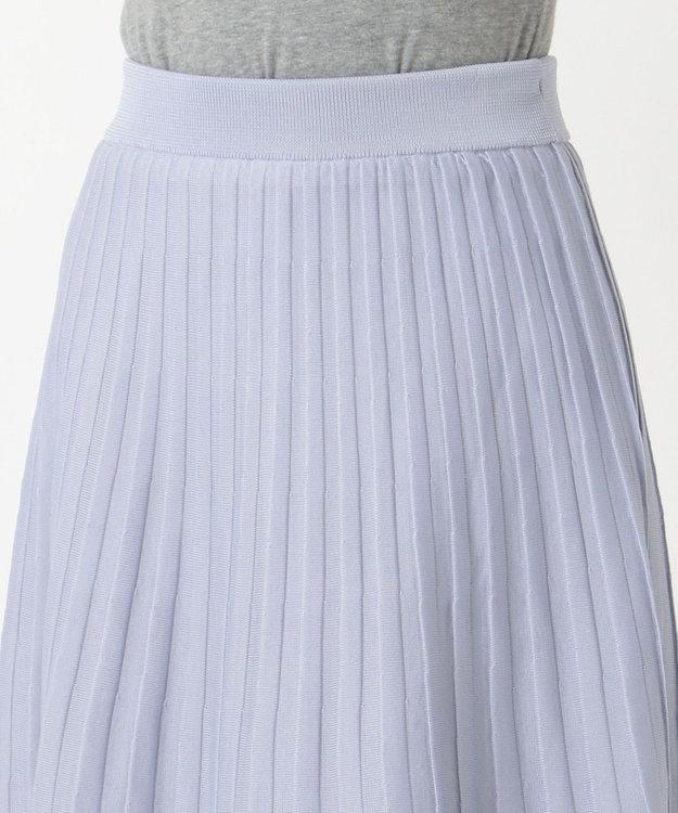 組曲 【Oggi2月号掲載】ポリエステルハイゲージ ニットプリーツスカート
