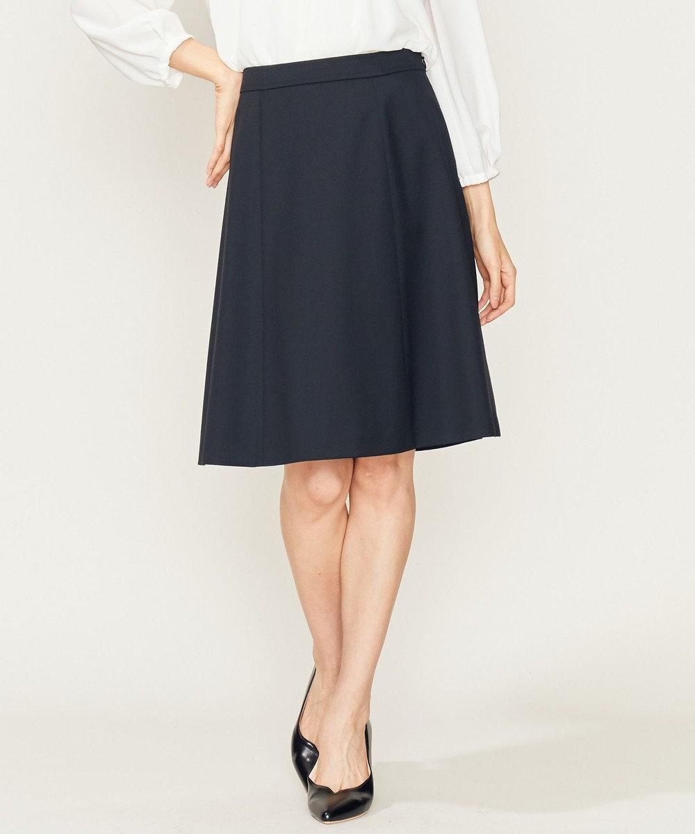 組曲 【セットアップ対応】T/Wスーティング スカート ブラック系