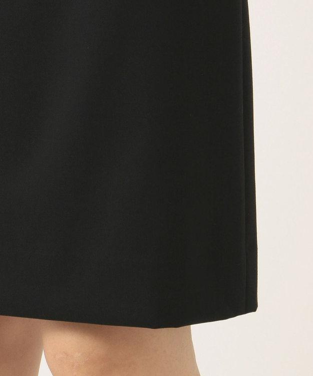 組曲 L 【セットアップ対応】ウォッシャブルウールストレッチ タイトスカート