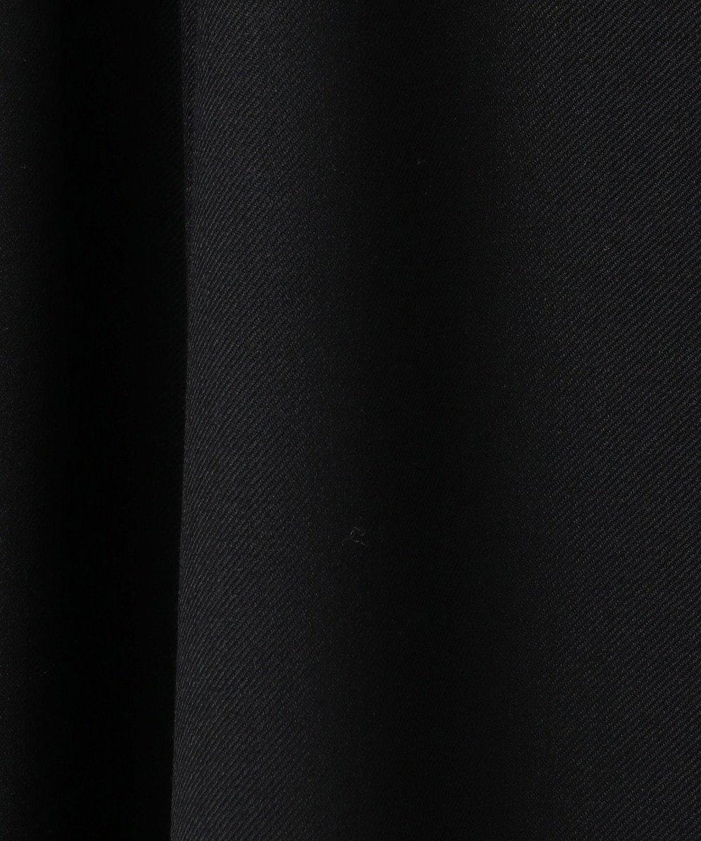 組曲 【洗える】T/R/W 2wayストレッチ タックスカート ブラック系