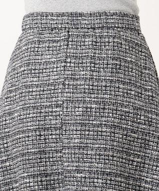 組曲 S 【セットアップ対応】ラメループモール ツイード スカート ネイビー系1
