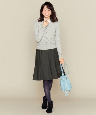 組曲 S 【洗える】ヌーベルチェルビック スカート グレー系3