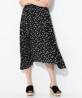 組曲 L 【洗える】マーガレットドットプリーツ プリーツスカート ブラック系5