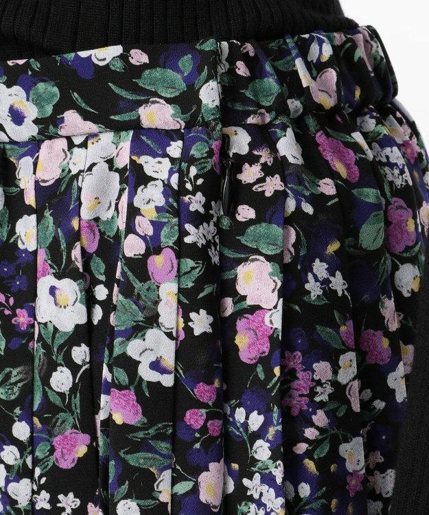 組曲 【Rythme KUMIKYOKU】プティフラワージョーゼットスカート