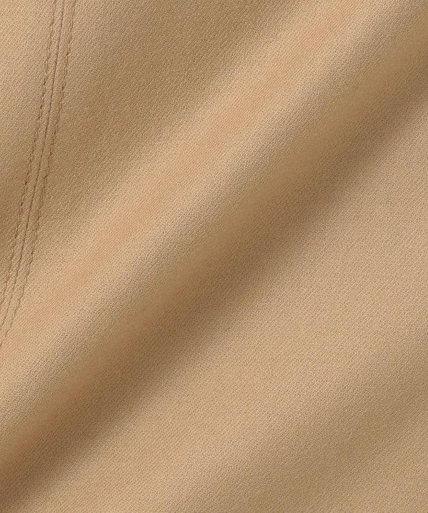 組曲 【洗える】ウールハイカウントフラノ フレアスカート