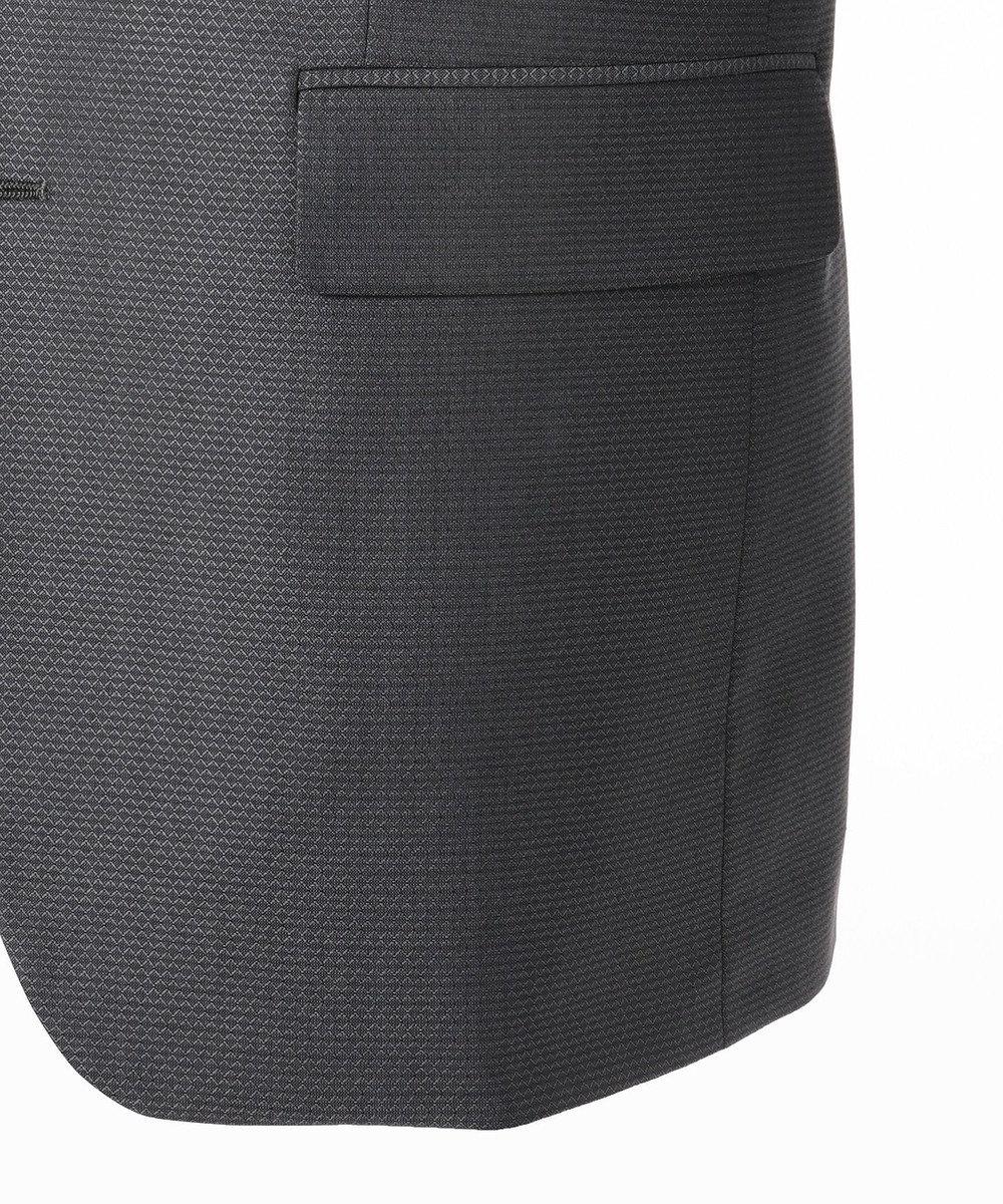 CK CALVIN KLEIN MEN シルクプリズムドビー スーツ グレー系